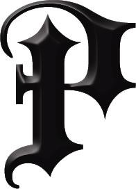 P Alphabet Design letter-p-temporary-tattoo